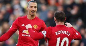 Zlatan and Rooney