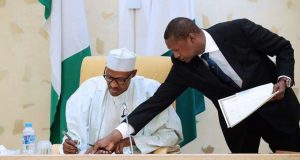 Buhari and Abubakar Malami