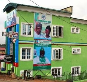 Buhari's campaign office, Ibadan