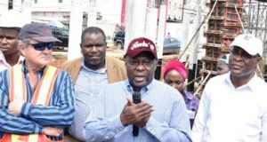 Eng. Adebowale Akinsanya, Commissioner for Works and Infrastructure,