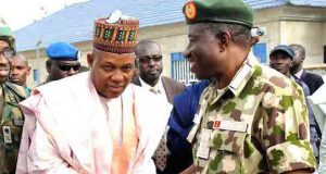 Kashim Shettima and then President Goodluck Jonathan