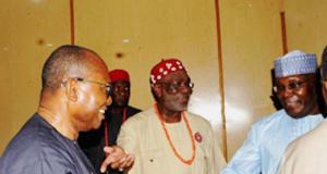 Obi, Ndigbo leader and Atiku Abubakar