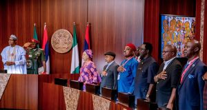 President Buhari and the National Minimum Wage Review Committee