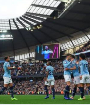 City were in total control from the first whistle at Etihad Stadium