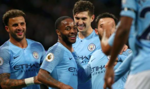 Raheem Sterling has now contributed to 11 goals in nine Premier League outings this term