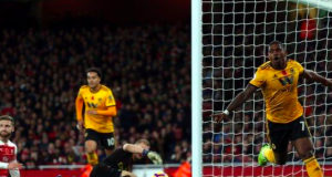 Ivan Cavaleiro has scored two of Wolves' 12 Premier League goals this season
