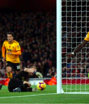 Ivan Cavaleiro has scored two of Wolves' 12 Premier League goals this season