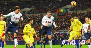 Tottenham's Dele Alli has scored six goals in his last five games against Chelsea