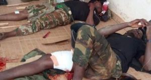 Soldiers who-Survived-Boko-Haram attack-In-Borno-