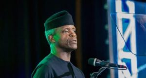 VP Osinbajo at the-dedication of Dunamis International Gospel Centre, Abuja