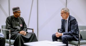 President Buhari with President of Poland H.E. Andrzej Duda