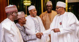 Buhari receives Ecowas parliamentary delegates
