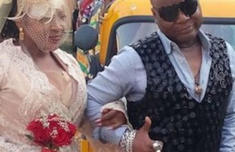 Charly Boy and wife, Diana