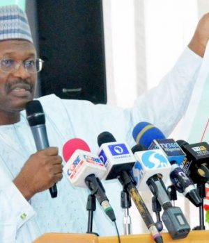 INEC Chair, Prof. Yakubu