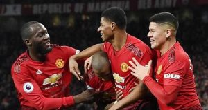 Man United crush Fulham 4-1