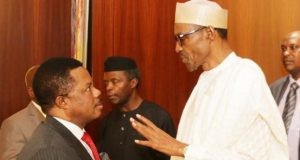 Gov. Obiano and President Buhari