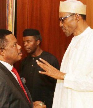 Gov. Obiano and President Buhari