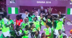 Victorious Super Falcons