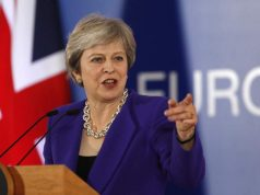 Theresa May, UK PM