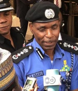 Acting IGP Mohammed Adamu