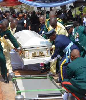 Late Air Chief Marshal Alex Badeh's remains