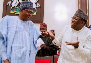 Buhari with Fayemi