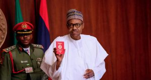Buhari's new Diplomatic Passport