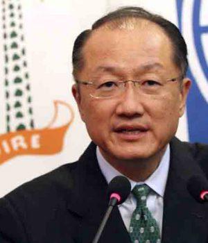 Jim Yong Kim, outgoing World Bank boss
