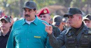 Maduro with military