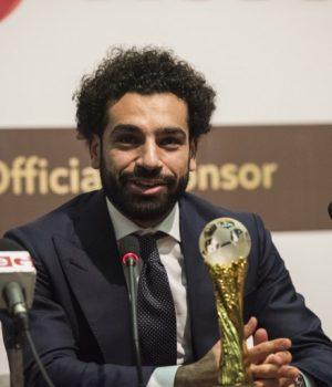 Mohamed Salah wins CAF Award