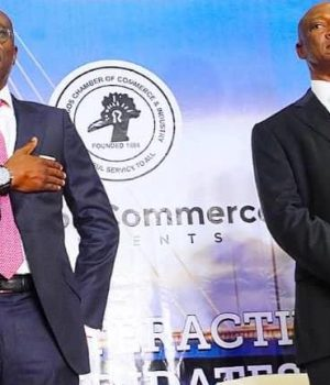 Sanwo-Olu, Agbaje trade tackles at LCCI debate