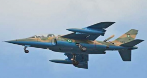 A typical Nigerian Air Force jet