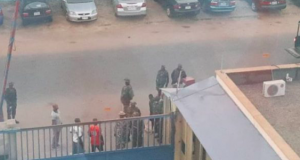 Soldiers sealed Daily Trust office in Abuja