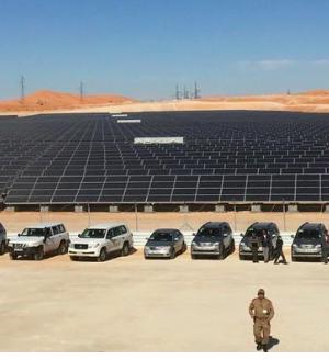 Algerian state energy firm Sonatrach' solar plant