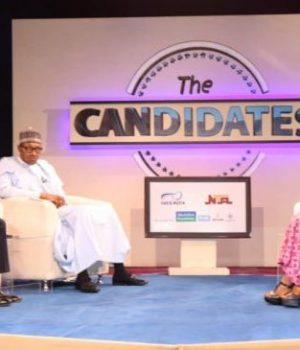 VP Osinbajo, Buhari and Kadaria Ahmed