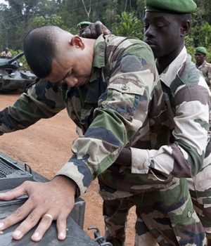 Foiled coup in Gabon