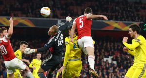 Arsenal beat Bate Borisov 3-0