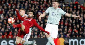 Bayern held Liverpool at Anfield