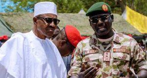 President Buhari and Lt. Gen. Buratai