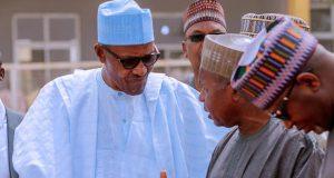 President Buhari and Gov. Aminu Masari of Katsina