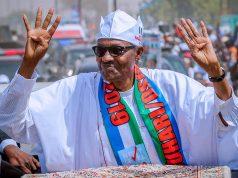 Buhari campaigns in Katsina