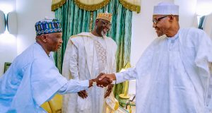 Buhari received decamped Yobe PDP Chairman