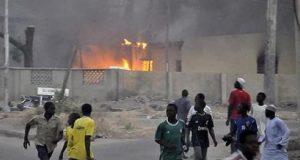 Explosions rock Borno