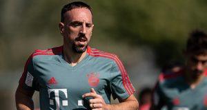 Franck Ribery of Bayern Muenchen