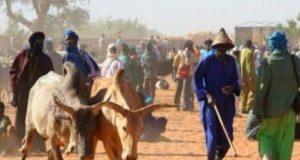 Fulani Herdsmen abandoning the area