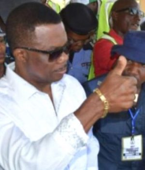 Gov. Willie Obiano casts his votes