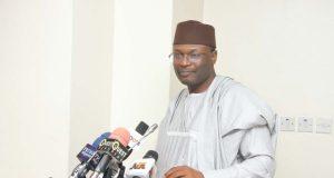 INEC chairman, Professor Mahmood Yakubu