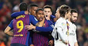 Malcom rescues draw for Barca