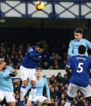 Man City beat Everton