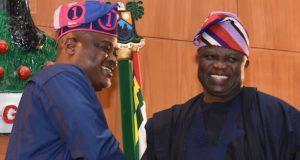 Mudashiru Obasa and Akinwunmi Ambode
